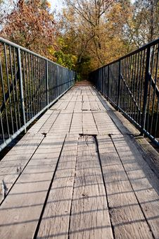 Free Small Bridge Stock Photography - 8342892
