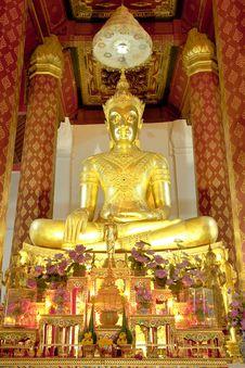 Free Buddha Image. Royalty Free Stock Photos - 8343088