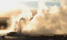 Free Hot Geyser Royalty Free Stock Photos - 8343148
