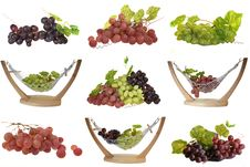 Free Different Sorts Of Grapes Royalty Free Stock Photo - 8343645