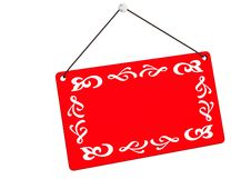 Free Retail Red Tag Stock Photography - 8343742