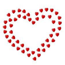 Free Hearts Royalty Free Stock Photography - 8344047