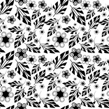 Free Seamless Floral Pattern Royalty Free Stock Photography - 8344217