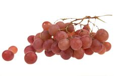 Free Red Grape Cluster Stock Photography - 8344512