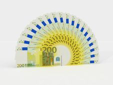 Free Euro Banknotes Royalty Free Stock Photos - 8344708