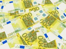 Free Euro Banknotes Royalty Free Stock Image - 8344716