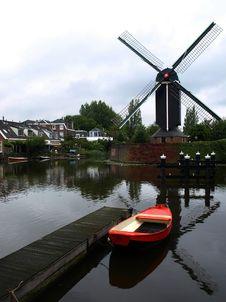 Free An Old Dutch Cornmill Royalty Free Stock Photos - 8345298
