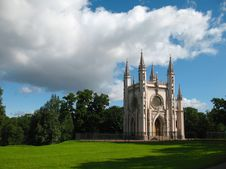 Gothic Chapel Royalty Free Stock Photo