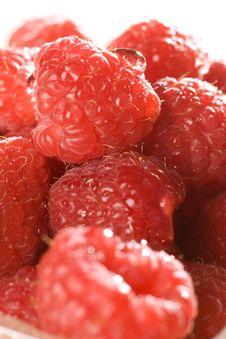 Free Raspberries Royalty Free Stock Photography - 8345747