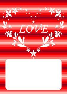 Free Valentine Card Royalty Free Stock Photo - 8346115