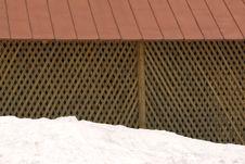 Free Closet In Snow Royalty Free Stock Photo - 8347315