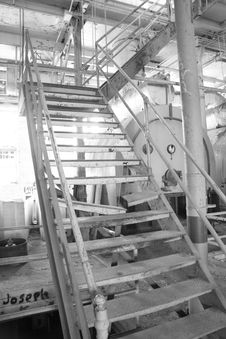 Free Sugar Mill Stairs Royalty Free Stock Photo - 8347525