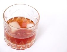 Free Glass Of Whiskey Royalty Free Stock Image - 8347636