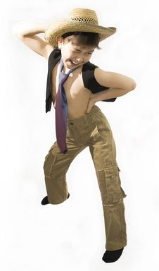 Free Dancing Boy Stock Images - 8347994
