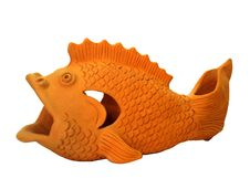 Free Decorative Fish Made Of Clay Royalty Free Stock Images - 8348069