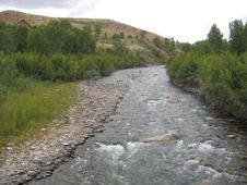 Free Stream In Wyoming Stock Photo - 8348860
