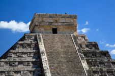 Free The Temples Of Chichen Itza Temple In Mexico Stock Photos - 8348903
