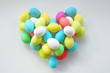 Easter Heart Royalty Free Stock Image