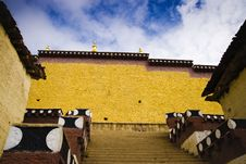 Tibet, Temples Royalty Free Stock Photography