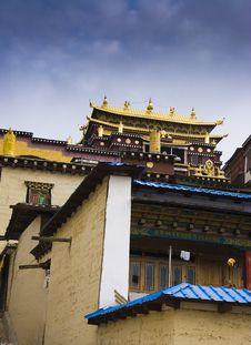 Tibet, Temples Stock Photography