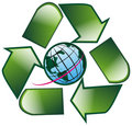 Free Recycle Earth Royalty Free Stock Photos - 8354168