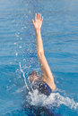 Free Female Backstroke Stock Images - 8357134