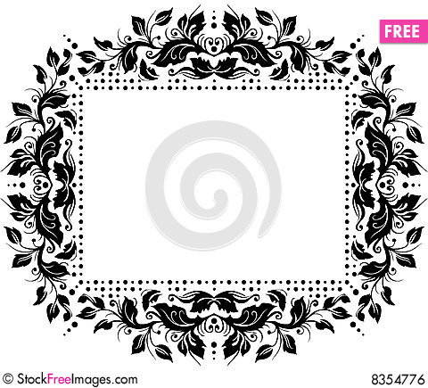 Floral Border Design Free Stock Photos Images