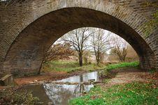 Free Old Bridge Royalty Free Stock Photo - 8351095