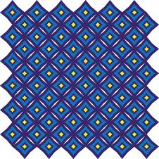 Free Vector. Star Based Abstract Tile Pattern 9 Stock Photography - 8351412