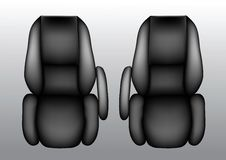 Air Flight Passenger Seats Royalty Free Stock Images