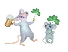 Free Card To St Patrick S Day Stock Photography - 8352092