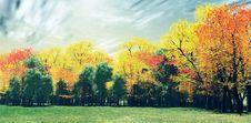 Free Wonderful Autumn Landscape Royalty Free Stock Images - 8352429