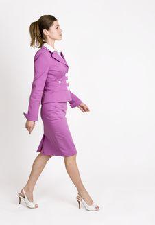 Free Purposeful Businesswoman Stock Photo - 8353090