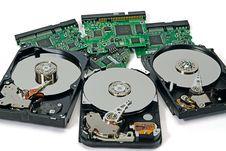 Free Three Hard Disk Stock Photography - 8353162