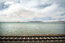 Tibetan Railroad Royalty Free Stock Photography