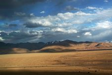 Free Beautiful Tibetan Plateau Stock Photography - 8354122