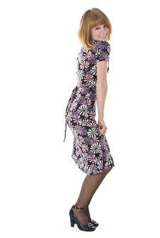 Free Beautiful Woman In Dress Stock Image - 8355491