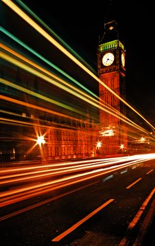 Free Westminster Bridge And Big Ben Royalty Free Stock Photo - 8355595