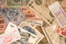 Free Old Banknotes Royalty Free Stock Photo - 8355665