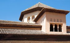 Free Alhambra Roof Line Stock Image - 8355711