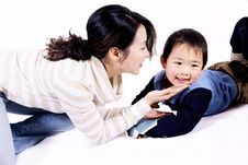 Free Boy And Mother Stock Photo - 8356320