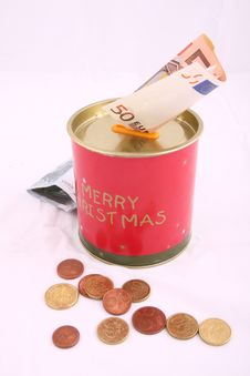 Free Christmas Savings Royalty Free Stock Image - 8356656