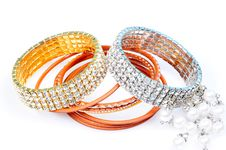 Free Diamond Bracelets Royalty Free Stock Images - 8356949