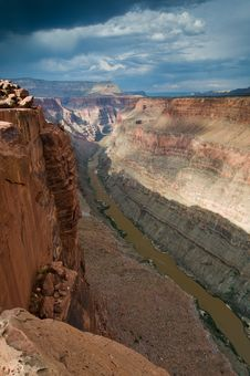 Free Grand Canyon At Toroweap Royalty Free Stock Photography - 8357027
