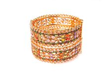 Free Golden Bracelets Royalty Free Stock Photo - 8357455