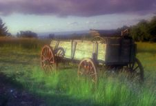 Free Antique Wagon Royalty Free Stock Photos - 8357548