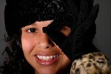 Free Pretty Latina Girl Royalty Free Stock Photography - 8357627