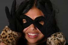 Free Pretty Latina Girl Stock Image - 8357631