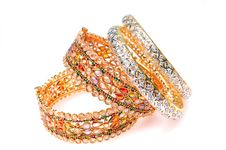 Free Golden Bracelets Stock Photo - 8357930