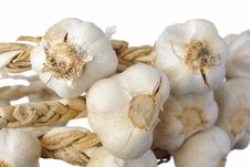 Free White Garlic Isolated Stock Photo - 8358240